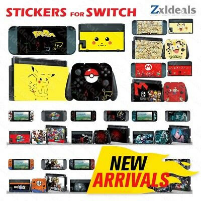 Switch Sticker Skin Decal for Nintendo Protection Vinyl Cover Console Wrap Zelda