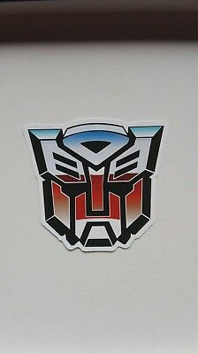 Transformers Logo Sticker Aufkleber