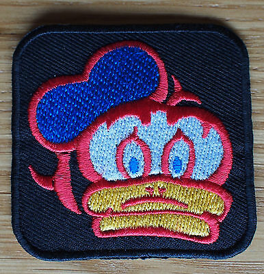 Motorcycle Biker Cloth Patch Leathers Vest Denim Cut Off Barry Sheene Lucky Duck