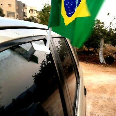 2-Stick  -Car-Window-Flags  Flag Stick Car and motorcycle  Hanging patent