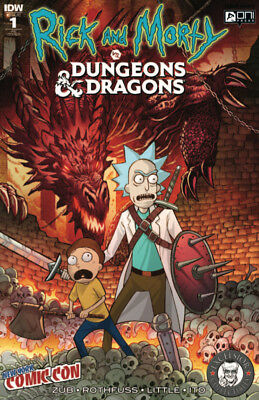 Rick And Morty vs Dungeons & Dragons #1 Kotkin Excelsior NYCC New York Exclusive