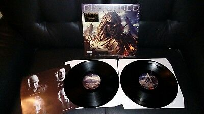 Disturbed - Immortalized Vinyl 2 LP Limited Edition etched D-side