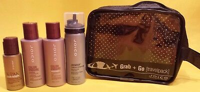 JOICO Reise Pflege Set  Color Endure Shampoo& Conditioner, Joiwhip, K-Pack Color