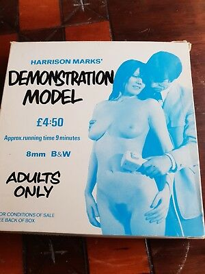 "VINTAGE GLAMOUR  B/W 8MM 50FT CINE FILMS HARRISON MARKS ""Demonstration Model"""
