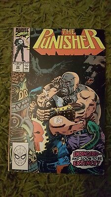 The Punisher #32 1990 comic