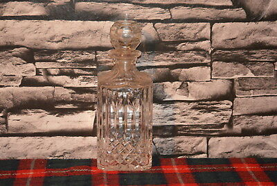 Scotch Whisky Decanter Glas Leer #c0502