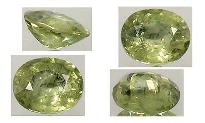 Antique 19thC 1½ct+ Green Sapphire Ancient Gemstone of Saturn