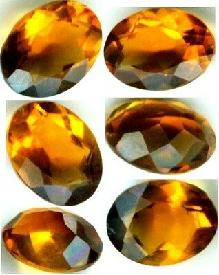 19thC Antique 1¾ct Scotland Citrine Ancient India Talisman Marriage Matchmaker