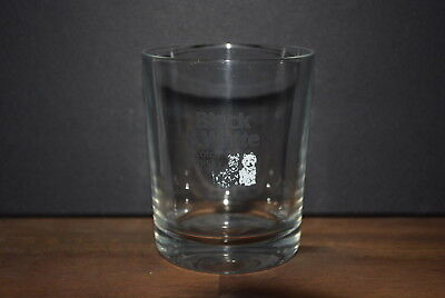 6 X Black & White  Scotch Whisky Tumbler Gläser Glas Neu #c0378
