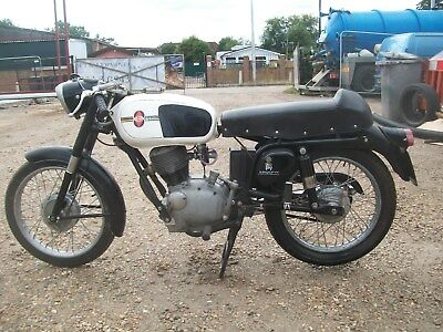 GILERA 125 6 DAY EVENT SPECIAL 1964 ONLY 733KMS GOOD PROJECT RARE on NOVA system