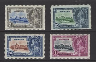 Mauritius 1935 Silver Jubilee Set - OG MH - SC# 204-07    Cats $47.60