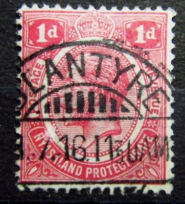 NYASALAND British Colonies Old Stamp Used - BLANTYRE Malawi Cancel -VF- r70e6633