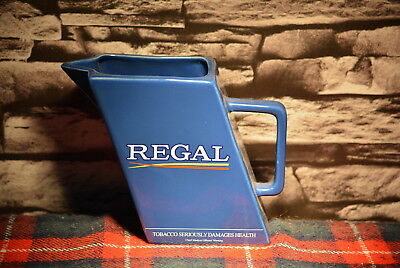 Regal Cigarettes Scotch Whisky Water Jug Wasser Krug #c0207