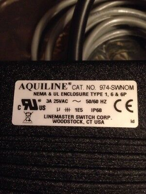 Aquiline  Pedal Foot Switch  974-SWNOM WITH CORD