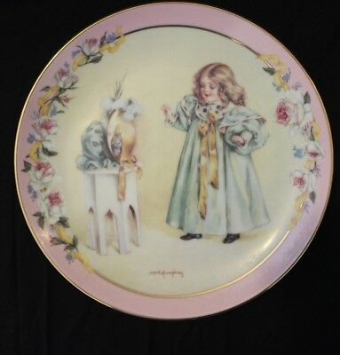"""""""Peek-A-Boo"""" By Maud Humphrey Bogart Victorian Playtime Plate Collection"""