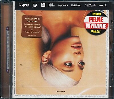 ARIANA GRANDE - Sweetener [CD] Polish EDITION PL NEW