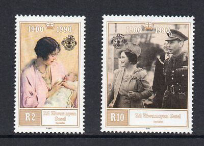 Zil Elwannyen Sesel - 1990, 90th Birthday of the Queen Mother, MNH