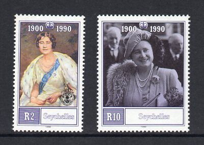 Seychelles - 1990, 90th Birthday of the Queen Mother, MNH