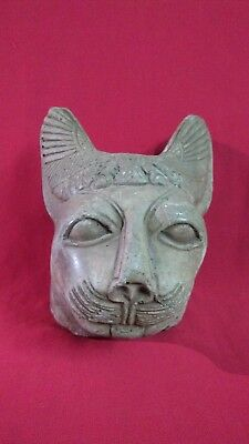 Ancient Egyptian rare Head of God Bastet (1323  BC)