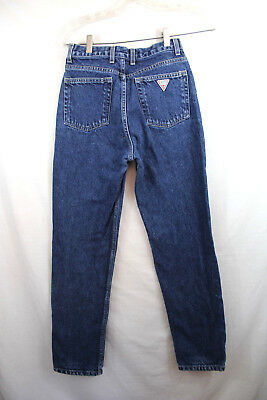 Guess Vintage Women's Jeans Style 1050 SH High Waist Med Wash 26x29 B18