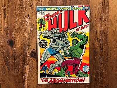 Incredible Hulk #159 - The Abomination - Marvel (1973) COMBINE SHIPPING SALE A