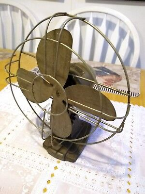 Vintage Metal Polar Cub 8 IN Fan