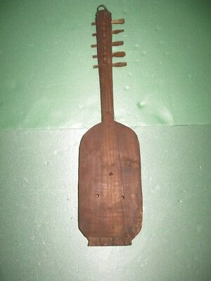 Antique Vintage Wooden Fiddle Violin String Musical Instrument 18th Century !