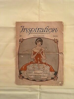 February 1924 Issue Of Inspiration