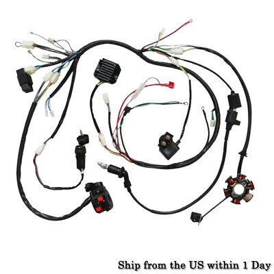 Mgb Headlight Wiring