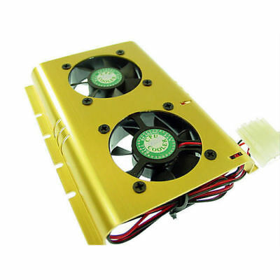 Evercool Hard Disk Cooler Fans Heat Sinks Cooling Computer Components SHDC-B