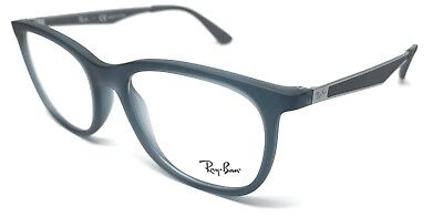 287e552d695 New Ray Ban Rb 7078 5679 Matte Gunmetal Frame Authentic Eyeglasses 53-18