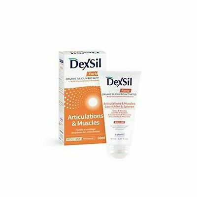 Dexsil Organic Silicium MSM Glucosamine Chondroitin Gel for Joints & Muscles 50g