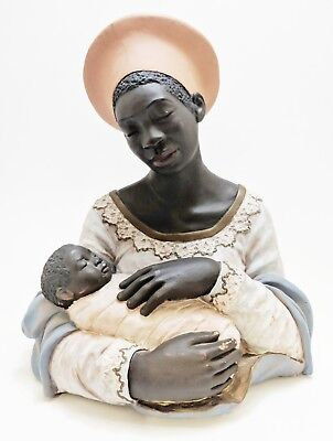 Black Madonna Bust/Statue, Norman A. Hughes, Positive Image Collection