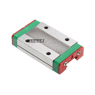1x Linear Sliding Block MGN12H Carriage for MGN12 Linear Guide Rail CNC XYZ DIY
