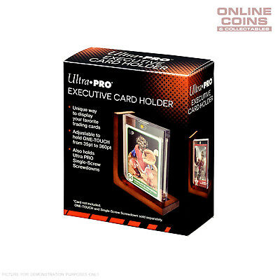 Ultra Pro Executive Card Holder Display for One Touch and Screwdown Holders