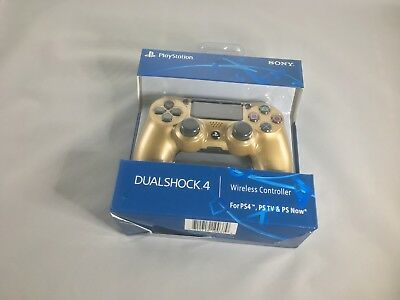 Playstation 4 Wireless Dualshock Controller New Open Box V2 Black Red GoldSilver