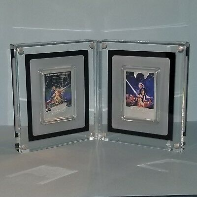 2017 Star Wars The Empire Strikes Back & Return of The Jedi 1 Oz Silver Coins
