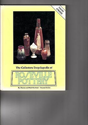Antique Roseville Art Pottery Reference book by Huxford 1995 Price & ID Guide