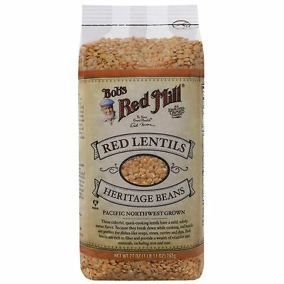 Bob's Red Mill Red Lentils 765g