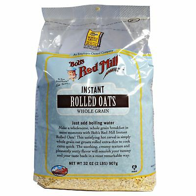 Bob's Red Mill Instant Rolled Oats Whole Grain 907g