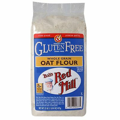 Bob's Red Mill Whole Grain Oat Flour Gluten Free 623g