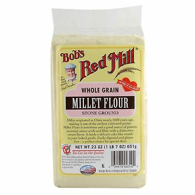 Bob's Red Mill Whole Grain Millet Flour Stone Ground 652g