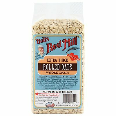 Bob's Red Mill Extra Thick Rolled Oats Whole Grain 453g