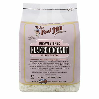 Bob's Red Mill Flaked Coconut Unsweetened 340g
