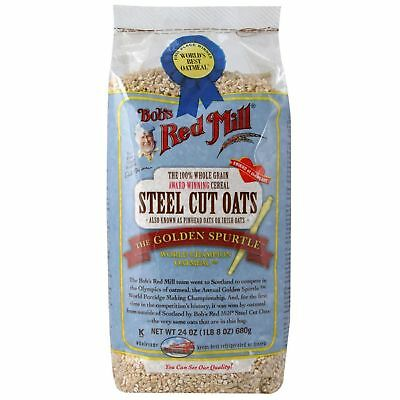 Bob's Red Mill Steel Cut Oats Natural Cereal 680g