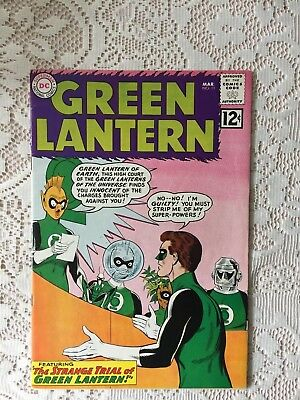 DC Comics Green Lantern # 11 1962 (VF)
