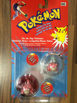 Pokemon Poke-Ball Sammel Figuren Flagadoss & Ramoloss Power Spiel  Neu OVP!!