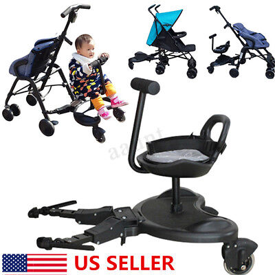 Englacha 2-in-1 Cozy X Rider Child Additional Universal Stroller Seat / Board US