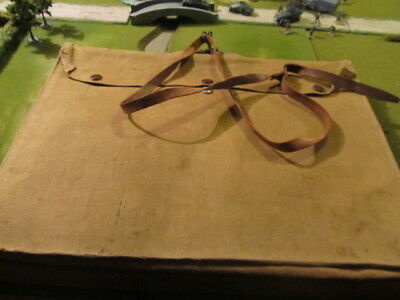 WW2 Surrey Home Guard officers large map case with contents