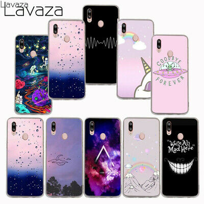Protective Space Phone Silicone Case Cover For Huawei P20 P10 P9 Lite Smart Pro